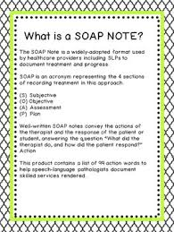 Soap Notes For Therapist 99 Action Words For Speech Therapy Soap Notes College Papers