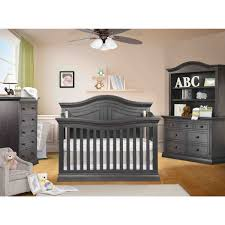 sorelle providence 4 in 1 convertible crib in vintage gray free
