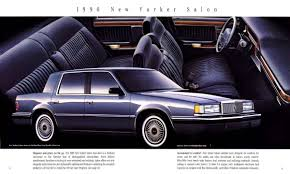 100 ideas 1990 chrysler new yorker on specandfeaturecar com