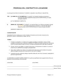contratto locazione box auto proroga contratto di locazione modelli e esempi di moduli