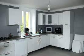 cuisines blanches et grises decoration mural cuisine blanche ration al images et grise