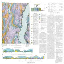 Washington On The Map by Geologic Map Of The Olalla 7 5 U0027 Quadrangle King Kitsap And