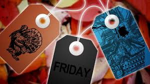 thanksgiving black friday cyber monday what to buy each day