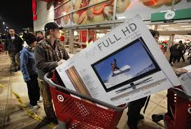 target black friday okc metro area shoppers hit stores early for black friday bargains