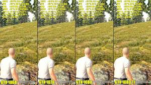 pubg 4k vs 1080p pubg gtx 1080 ti vs gtx 1080 vs gtx 1070 vs gtx 1060 frame rate