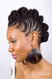geometric cornrow hairstyle for black women hairstyle ideas