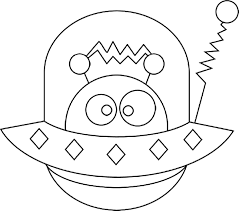 cute alien coloring pages printable coloringstar