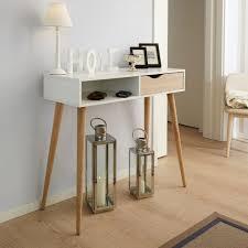 Kleiner Schreibtisch Eiche Schreibtisch In Weiß Oberfläche Massive Eiche Unbehandelt