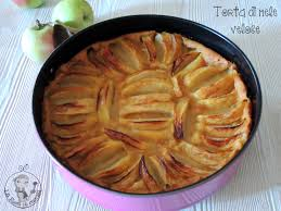 giallo zafferano cucina vegetariana torta di mele vegana la rica in cucina