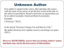 how to cite a reference in apa format with no author