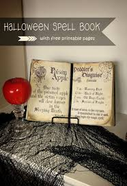 Old World Halloween Ornaments I U0027ve Been Wanting To Make A Spell Book For My Halloween Decor For