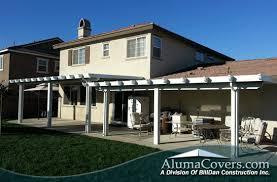 aluminum patio covers corona alumawood