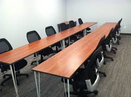 training room tables on caster wheels wild cherry laminate scp