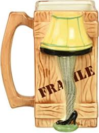 l shade from a christmas story amazon com a christmas story leg l ceramic shade mug kitchen