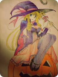 anime witch halloween by amandabloom on deviantart
