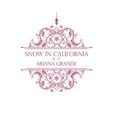 california photo album snow in california single grande mp3 buy tracklist