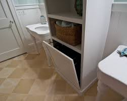 Bathroom Cabinet With Laundry Bin by 10 Best Built In Hamper Images On Pinterest Laundry Hamper