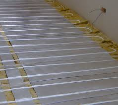 Underfloor Heating For Laminate Flooring Aluminium Spreader Plate Underfloor Heating System Westpointufh