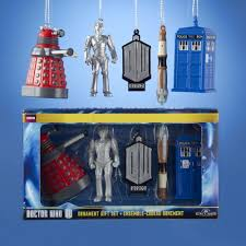 how about these terrific dr who decorations