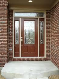 Custom Size Steel Exterior Doors Front Doors Exterior Wooden Doors With Glass Panels Solid Wood