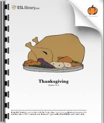 esl lesson plan on thanksgiving bootsforcheaper
