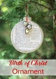 birth of christ christmas ornament lovely etc