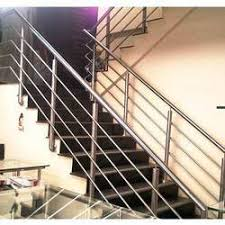 Handrail Manufacturer Ss Railing For Staircase Staircase Stainless Steel Railing Designs