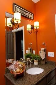 orange bathroom ideas pin by vanee on for the home orange