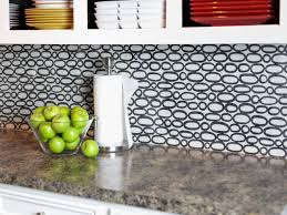 Diy Kitchen Backsplash Ideas by Make A Renter Friendly Removable Diy Kitchen Backsplash Hgtv