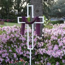 Easter Yard Decorations by Easter Yard Cross