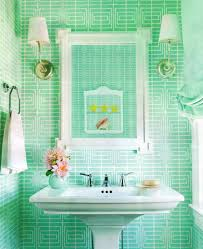 cute bathroom decorating ideas excellent guppie green theme cute bathroom decorating ideas with a