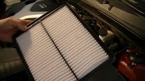 hyundai sonata 2011 2013 air filter check replacement 2 0t se