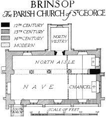 brinsop british history online brinsop the parish church of st george