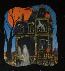 halloween cardboard decorations vintage beistle halloween die cut paper decorations