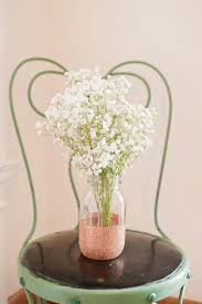 Flower Vase Crafts Diy Glitter Vases The Sweetest Occasion