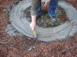 How To Make A Gas Fire Pit by How To Build A Fire Pit And Grill How Tos Diy