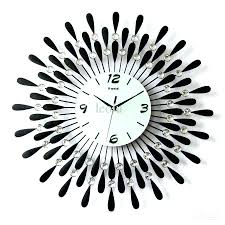 wall clocks modern contemporary wall clocks large modern design