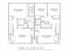 tidewater duplex 9172 3 bedrooms and 2 baths the house designers 3rd floor plan