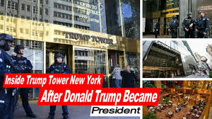 news inside trump tower new york after donald trump became