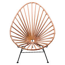 Acapulco Outdoor Chair Mexa Acapulco Leather Lounge Chair Huckberry
