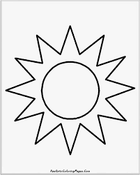 sun coloring page rainbow with clouds and sun coloring page nature