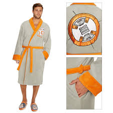 robe de chambre disney adulte disney officiel wars adultes bb 8 droid de luxe peignoir