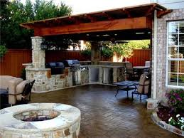 Custom Outdoor Kitchen Designs Home Interior Design Ideas - Backyard kitchen design
