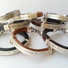 leather hand bracelet images Heavy leather hand stamped bracelet michelle rhodes jpg