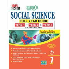 7th standard guide social science full year english medium