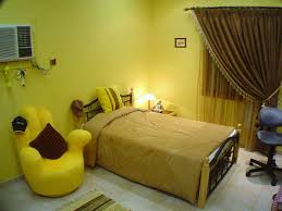 yellow paint colors for bedroom ideas including green carpet