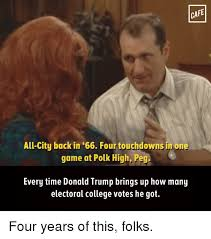 Memes Cafe - cafe all city back in 66 four touchdowns in one game at polk high