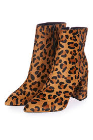womens boots topshop leopard flare boot topshop