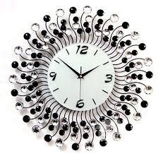 Decorative Wall Clocks Australia Modern Classic Living Room Diamond Decorative Wall Clock