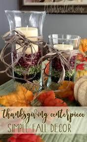 thanksgiving centerpiece simple festive fall decor